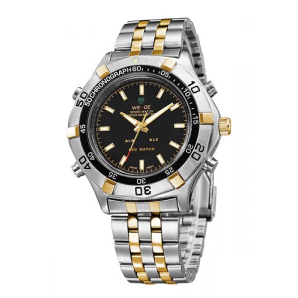 Мужские часы Weide 1201 Серебристые