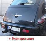 Фаркоп - Chrysler PT Cruiser Хэтчбек (2000-2010) съемный на 2 болтах