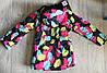 Зимняя горнолыжная куртка для девочки  Just play  Польша 104,110,116,122, фото 3