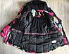 Зимняя горнолыжная куртка для девочки  Just play  Польша 104,110,116,122, фото 4