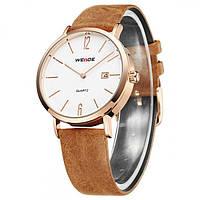 Мужские часы Weide 4507 Коричневые, фото 1