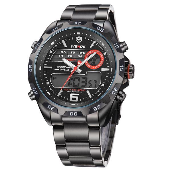 Мужские часы Weide 1247 Black