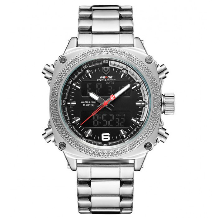 Мужские часы Weide 01210 Серебристый