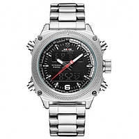 Мужские часы Weide 01210 Серебристый, фото 1