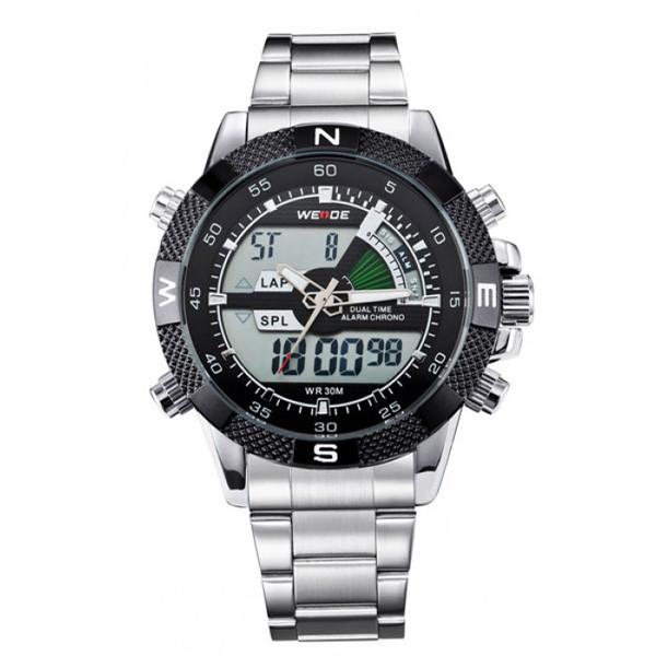 Мужские часы Weide 1203 Silver
