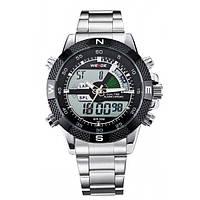 Мужские часы Weide 1203 Silver, фото 1