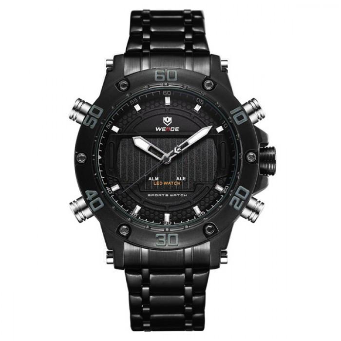 Мужские часы Weide 7202 Черные