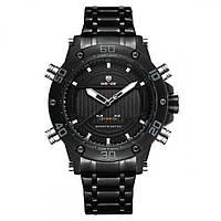 Мужские часы Weide 7202 Черные, фото 1