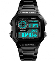 Мужские часы Skmei 15555 Black