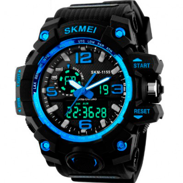 Мужские часы Skmei 1237 Dark blue