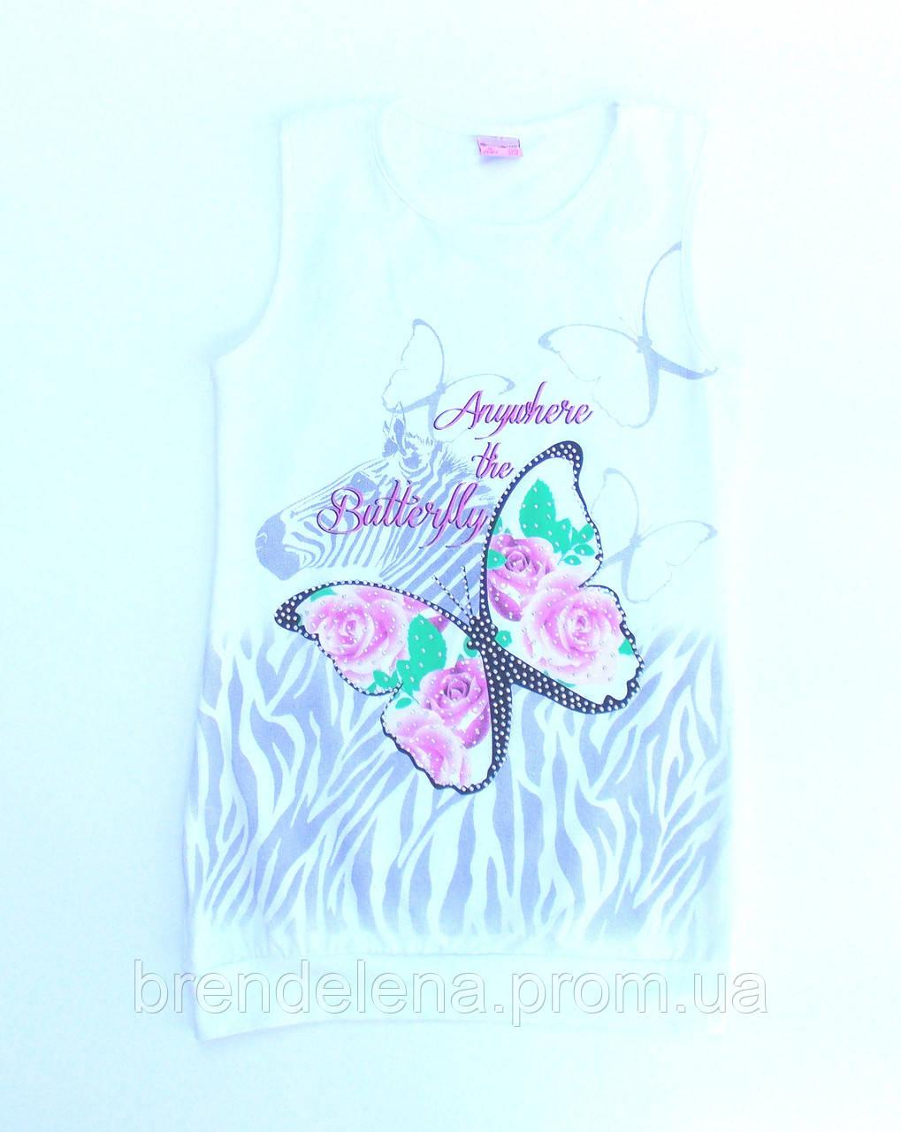 Модна футболка - туніка (ріст 128)