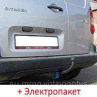 Фаркоп - Citroen Berlingo 2 Фургон (2008-2018) крім Maxi L=4380, фото 1