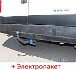 Фаркоп  съемный на 2 болтах - Citroen Jumpy 1 Фургон (1994-2006)
