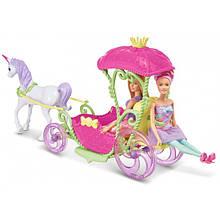 Карета з лялькою Barbie Mattel DYX31