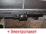 Фаркоп съемный на двух болтах на пластине кованый - Citroen Jumper Микроавтобус (1994-2006) ситроен джампер