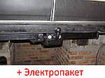 Фаркоп съемный на двух болтах на пластине кованый - Citroen Jumper (2006--)