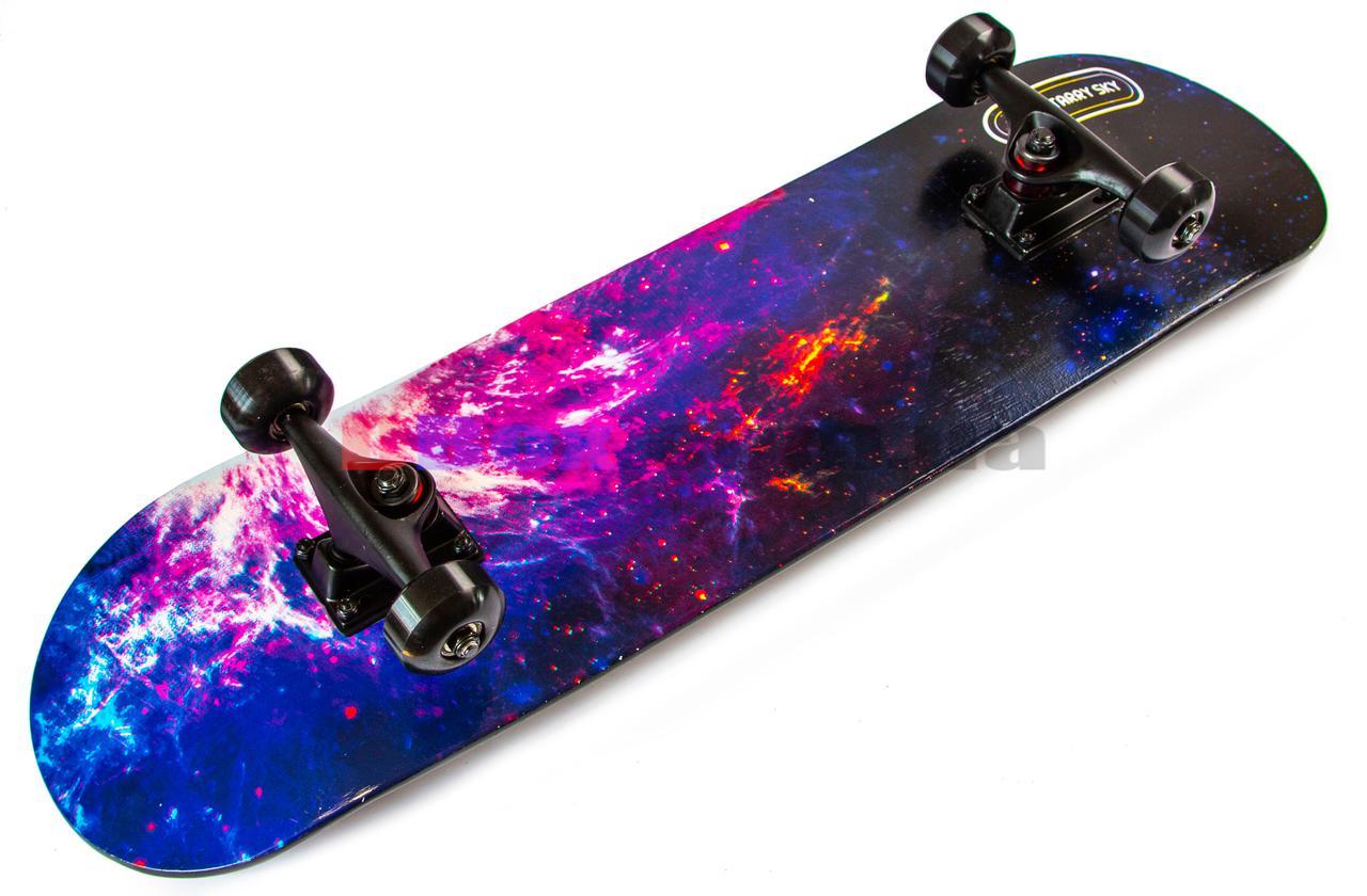 Скейт борд Scale Sport (канадский клен) - США Starry Sky (2T2067/WMBC/SS)