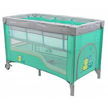 Манеж-кровать Baby Mix HR-8052-2 (2-уровневый), фото 3