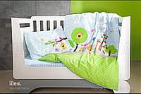 Комплект постельного белья IDEIA ранфорс 100х135 И811650 дерево