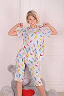 Пижама женская Птички