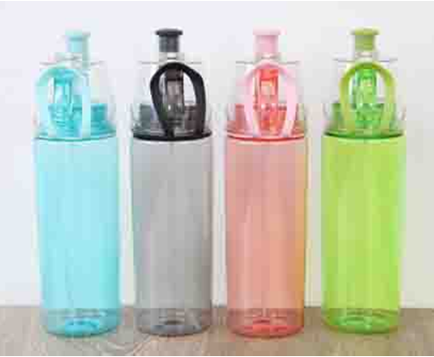 Бутылка пластиковая с дозатором Фан-фан, 700 мл, фото 2