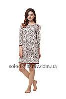 Жіноча сорочка ELLEN Бордо 3 4 рукав 203 001 c2ad784cb4a39