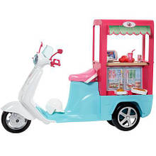 Скутер буфет Barbie Mattel FHR08