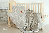 Комплект постельного белья IDEIA ранфорс 100х135 И813517 беж