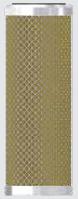 Алюминиевый фильтроэлемент  OHK 44 (Hankinson E-44), фото 1