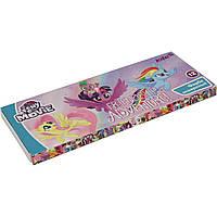 """Акварель 12 цветов """"Гамма"""" """"Kite"""" """"Little Pony """" без кисточки , картон (28) № LP17-041"""