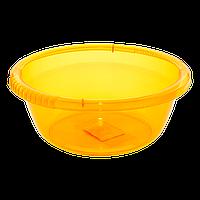 Таз круглый 2,6 л оранжевый