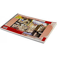 Альбом для малюв. на пруж. 30/120 А4 (УФ) №АА4130-001/0587/Графіка/(5)(80)