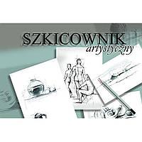 Альбом для эскизов Kreska 16P52023 А4 100 листов склейка