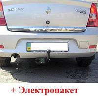 Фаркоп сварной усиленный- Dacia Logan Седан (2004-2012)