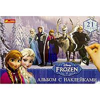 Альбом с наклейками Frozen (на русском) 13162037Р/4510-13