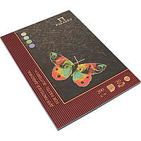 """Альбом-планшет для пастели склейка 20/200 А4 """"Бабочка"""" (1) (18) №352905 / 3461 /"""