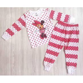 Пижама детская для девочкирозовая  Минни Маус  , фото 2