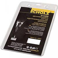 """Бейдж """"Scoolz"""" вертикальный PVC 70 х105 мм (10) №4342"""