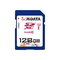 Карта памяти RiDATA SDXC 128GB Class 10 UHS-I