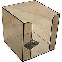 Блок для бумаги Arnika 83031 90х90х90мм дымчатый