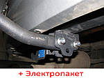 Фаркоп съемный на 2 болтах - Dacia Logan Седан (2013--)
