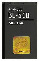 Батарея (акб, аккумулятор) Nokia BL-5CB для телефонов Nokia, 850 mAh, оригинал