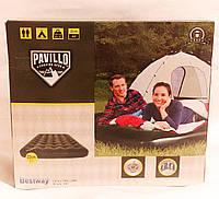 Bestway матрац надувной двухспальный темно зеленый Pavillo