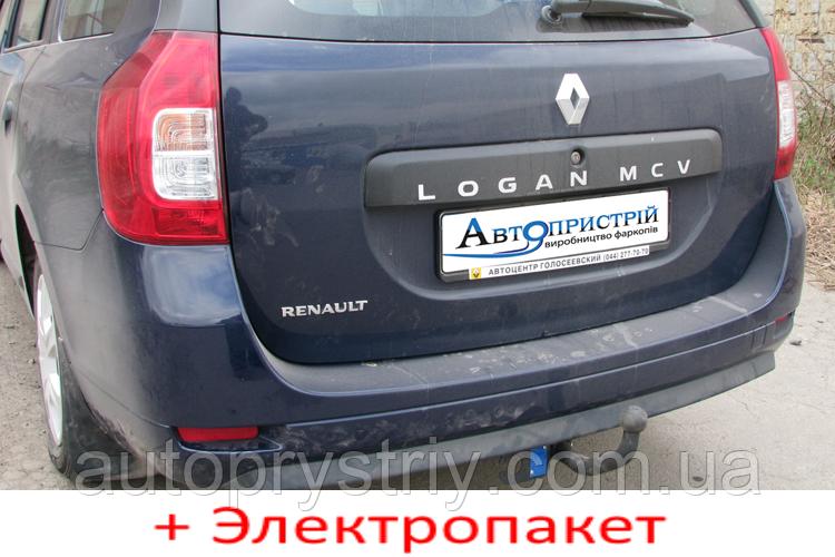 Фаркоп съемный на 2 болтах - Dacia Logan MCV Универсал (2013--)