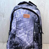 Городской универсальный рюкзак Restogo с абстрактным принтом серый