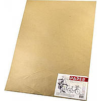 Бумага для эскизов А1 594х836мм 190г/м2 20 листов Мандарин 1610