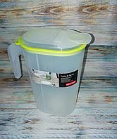 Кувшин для напитков Lemonad 1.5 литра Plast team, фото 1