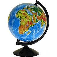 Глобус физический сувенирный 260мм (на украинском)