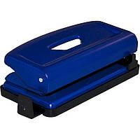 """Дырокол """"Scholz"""" 12 листов металлический с линейкой, синий (1) №4316 / 04010716"""