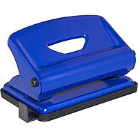 """Дырокол """"Scholz"""" 16 листов металлический с линейкой, синий (1) №4317 / 04010726"""